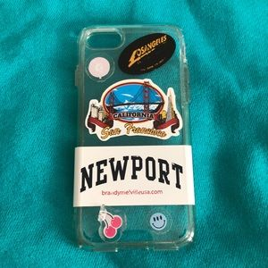 Brandy Stickers Phone Case